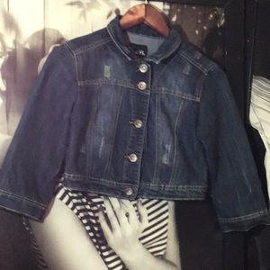 Rue 21 denim half jacket
